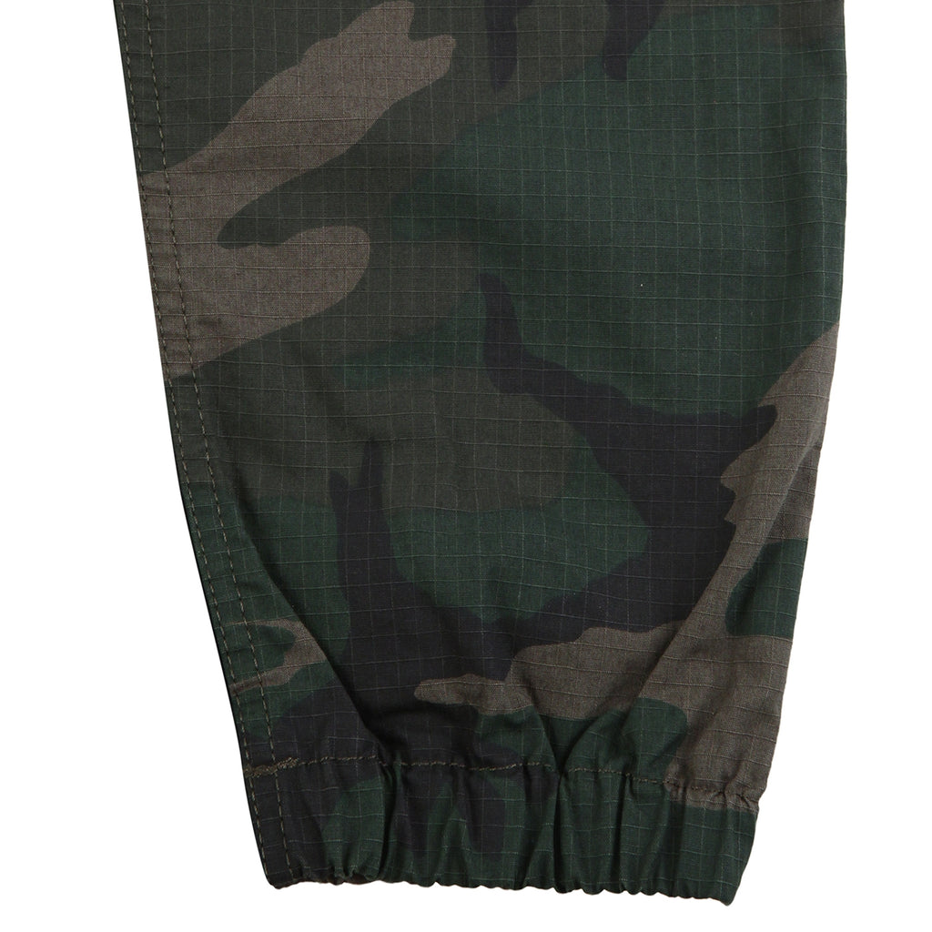 Carhartt Marshall Jogger in Camo Combat Green - Cuffs