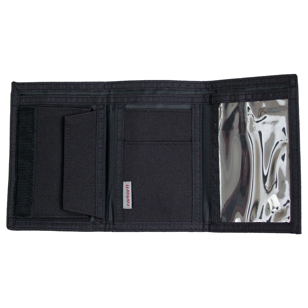 Carhartt Wallet in Black - Open