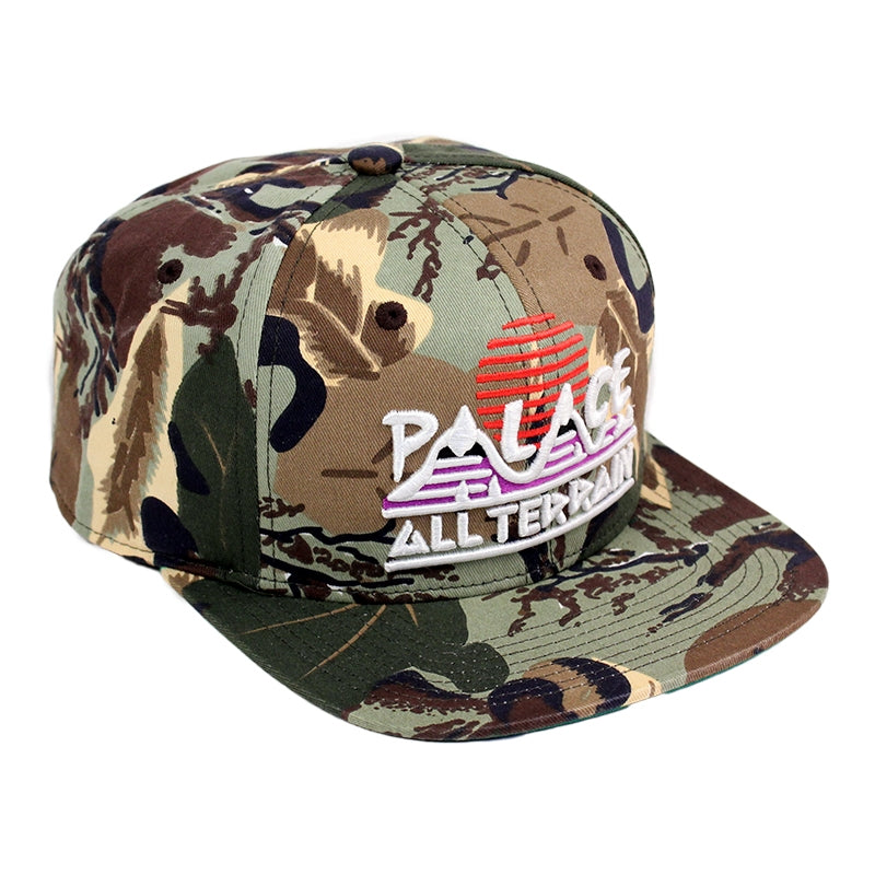 Palace All Terrain Snapback Cap in Camo