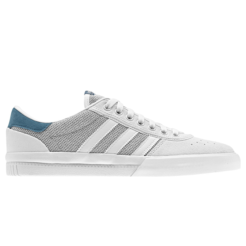 Adidas Lucas Premiere Shoes in Footwear White / Solid Grey / Real Teal