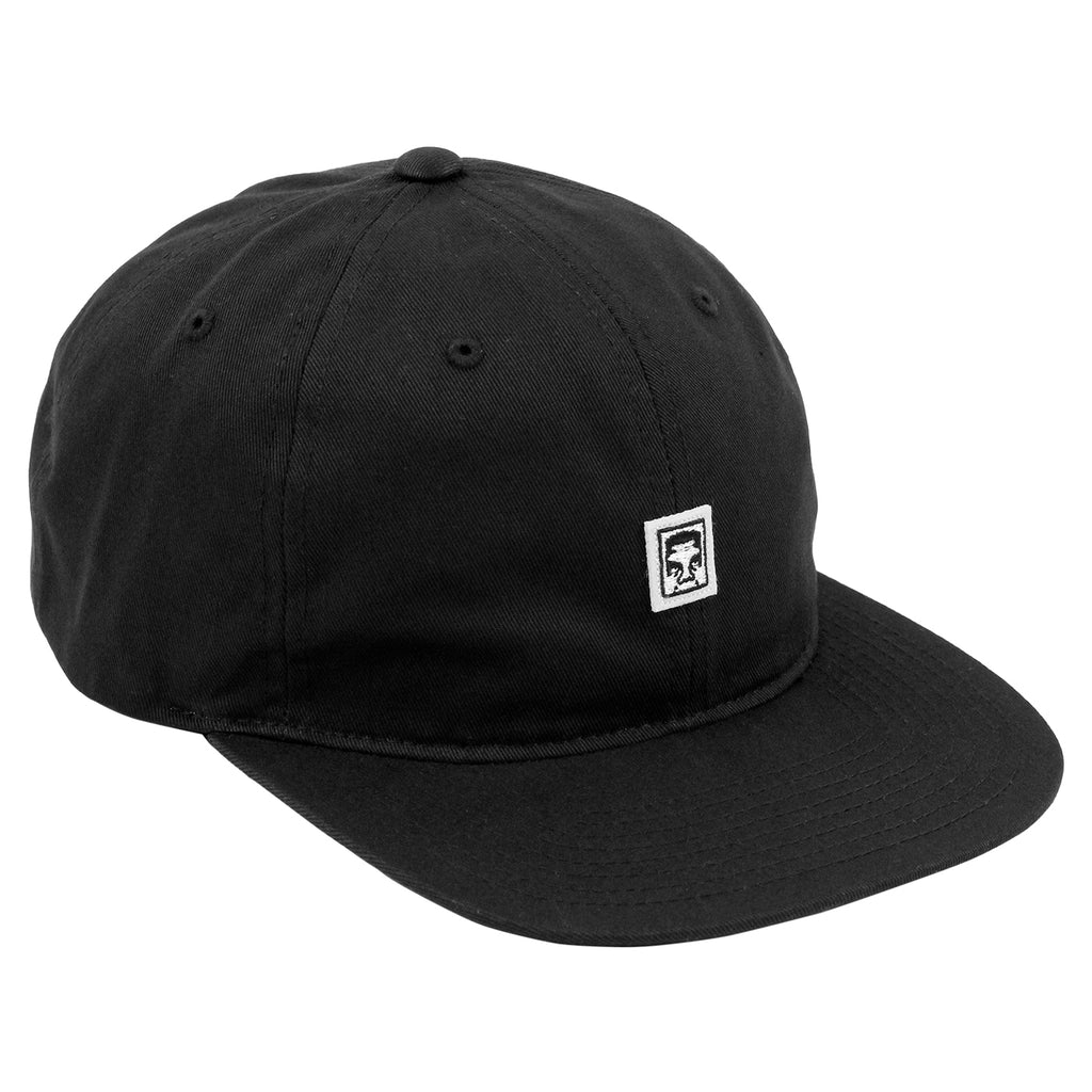 Obey Clothing Eighty Nine 6 Panel Cap in Black