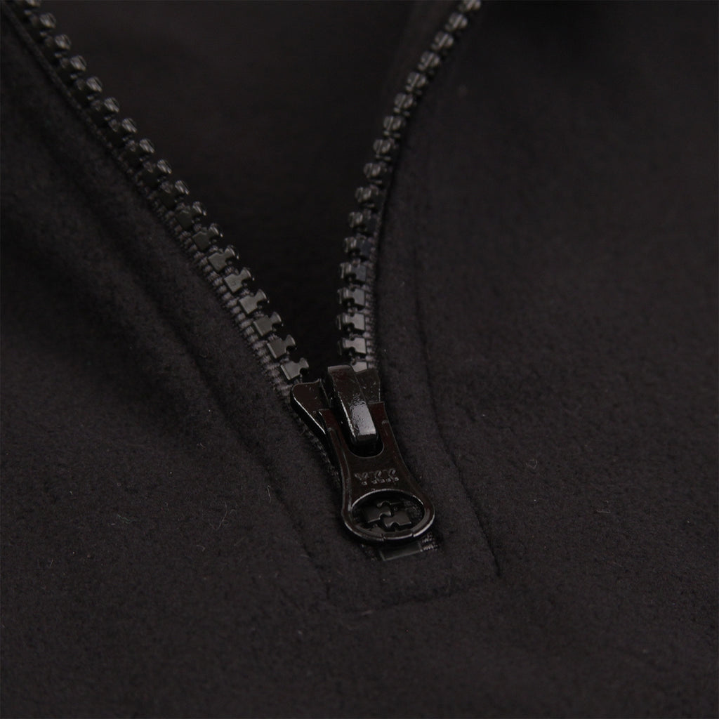 Polar Skate Co Light Fleece Pullover in Black - Zip
