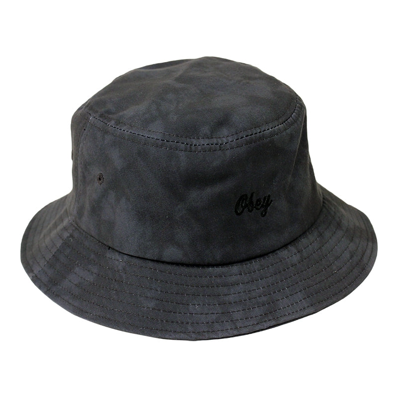 Obey Clothing Haight Bucket Hat in Black