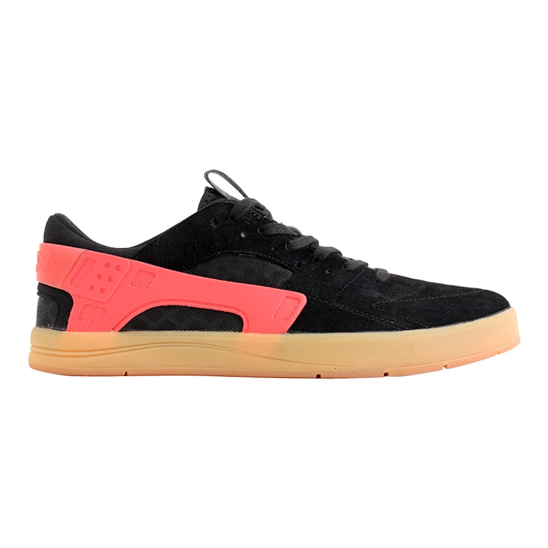 Nike SB Eric Koston Huarache Shoes in Black / Hot Lava / Gum Light Brown