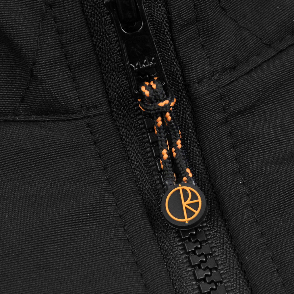 Polar Skate Co Halberg Jacket in Black / Orange - Zip