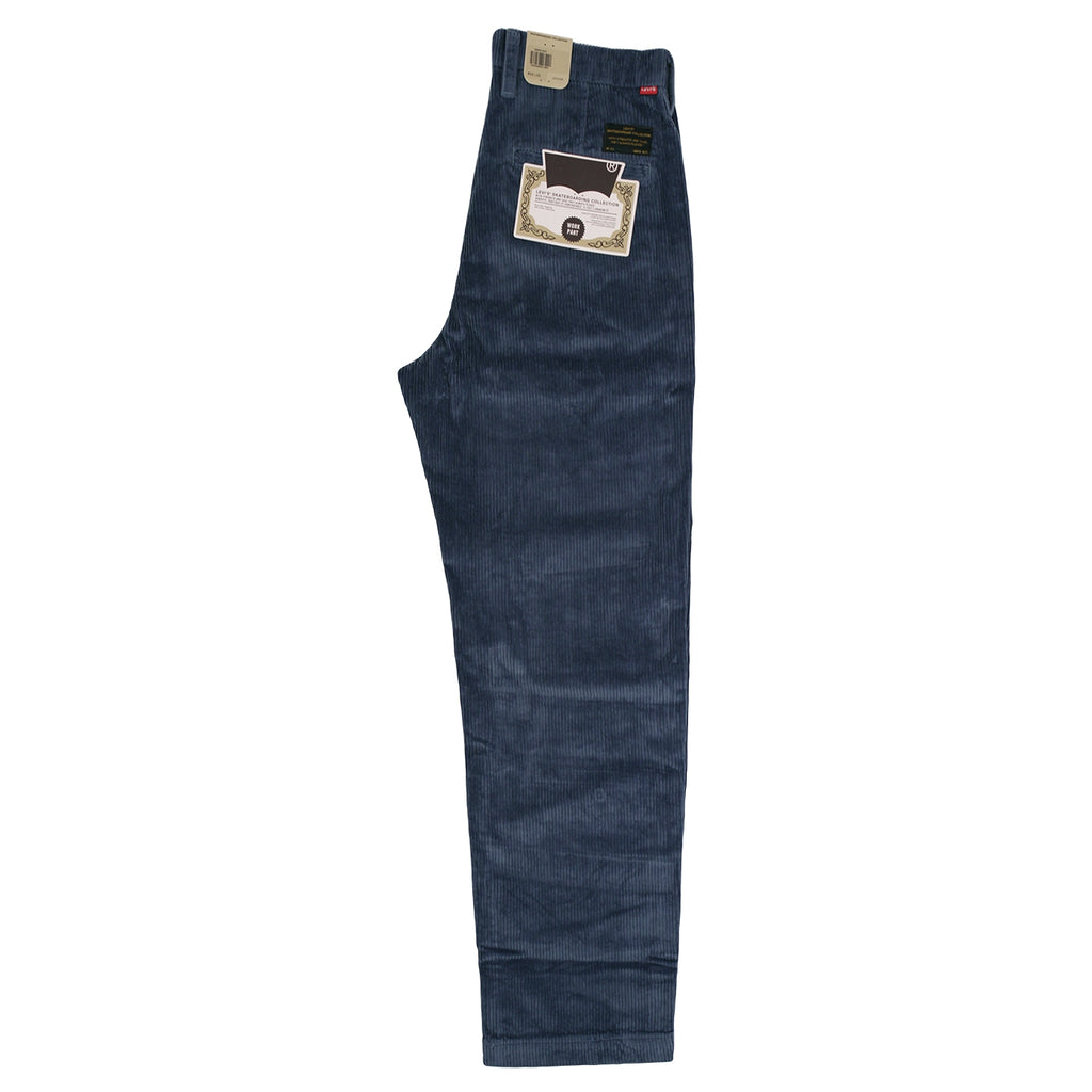 Levis Skateboarding Pleated Trousers in Vintage Indigo