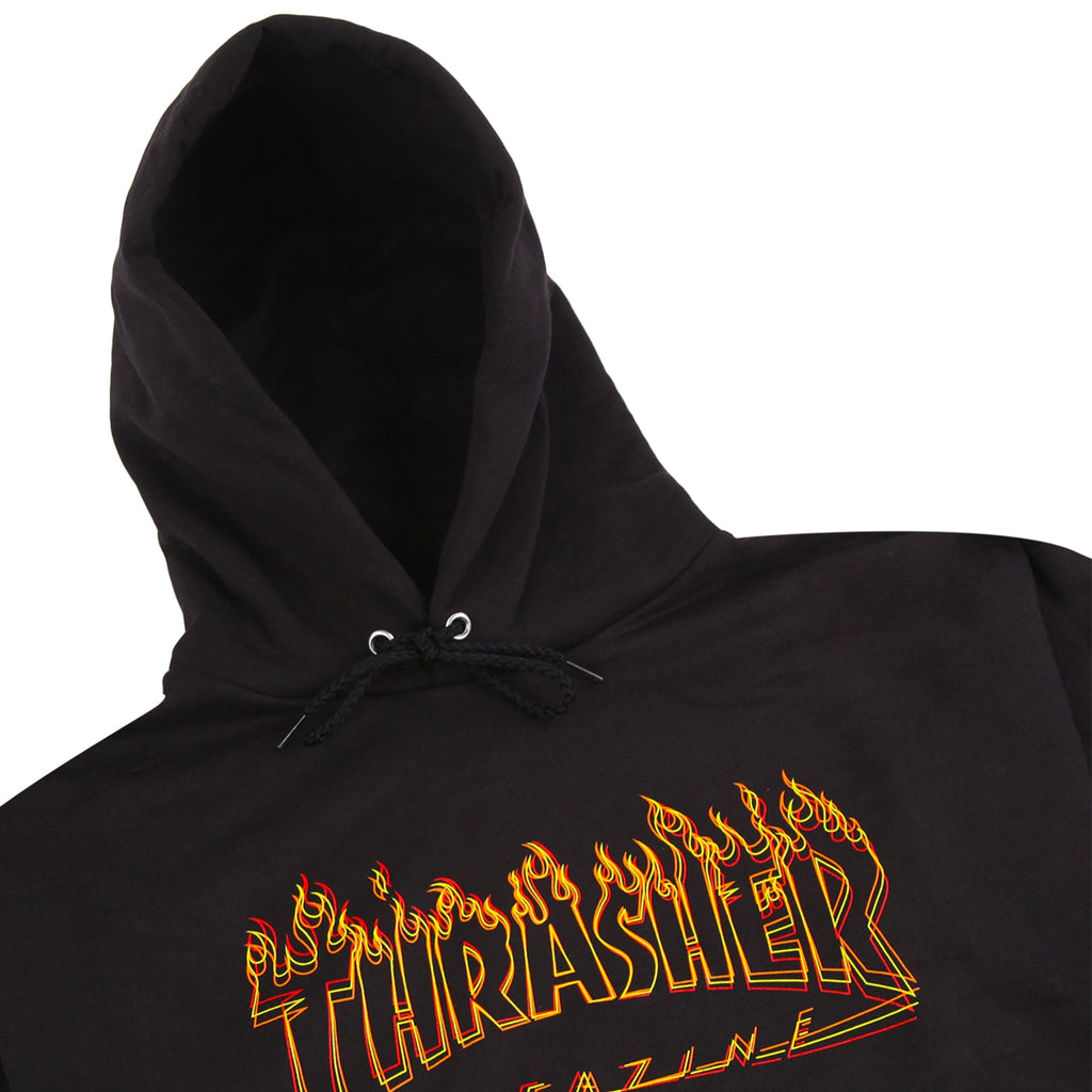 Thrasher Richter Hoodie in Black - Detail