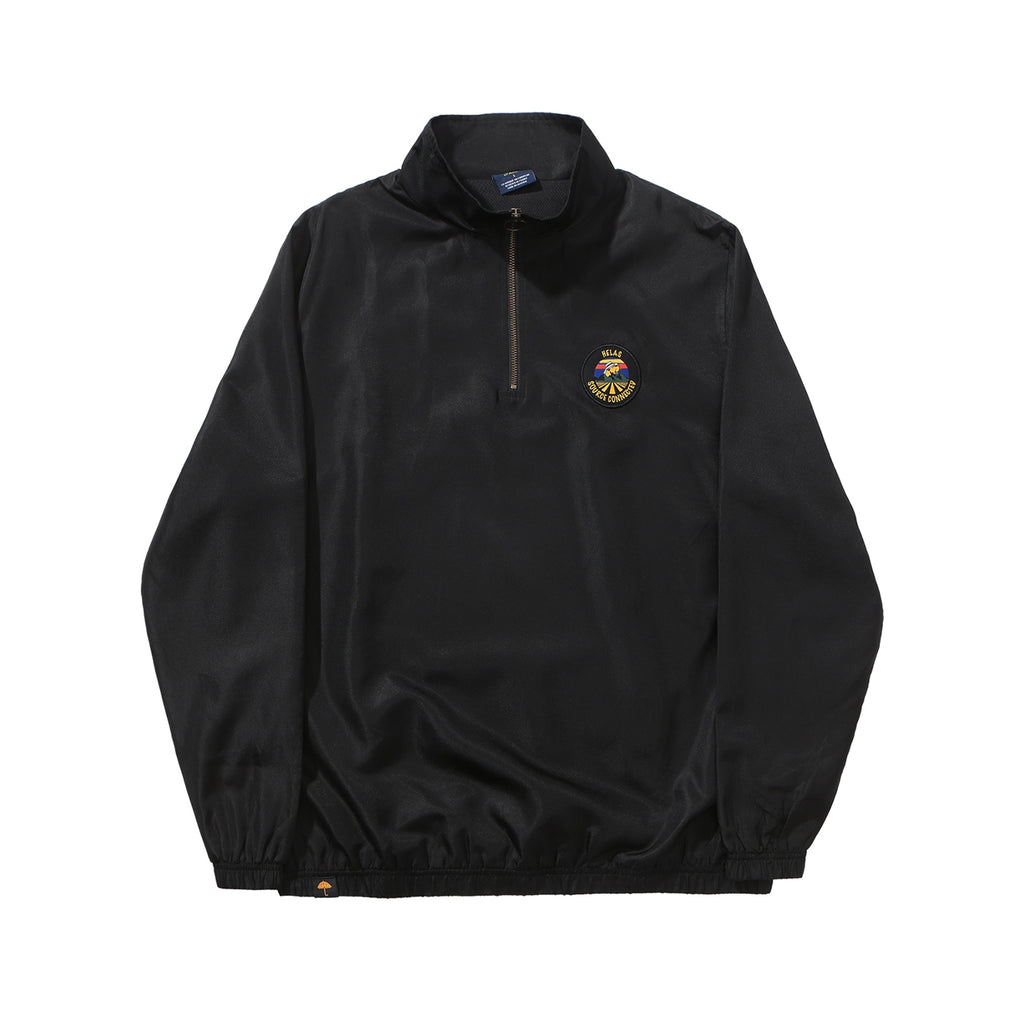 Helas Source Quarter Zip Jacket in Black