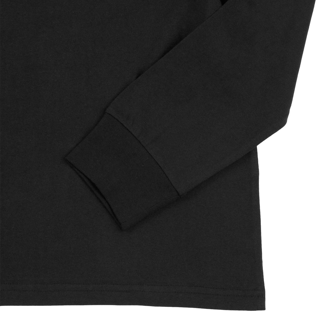 Carhartt Pocket L/S T Shirt in Black - Cuff