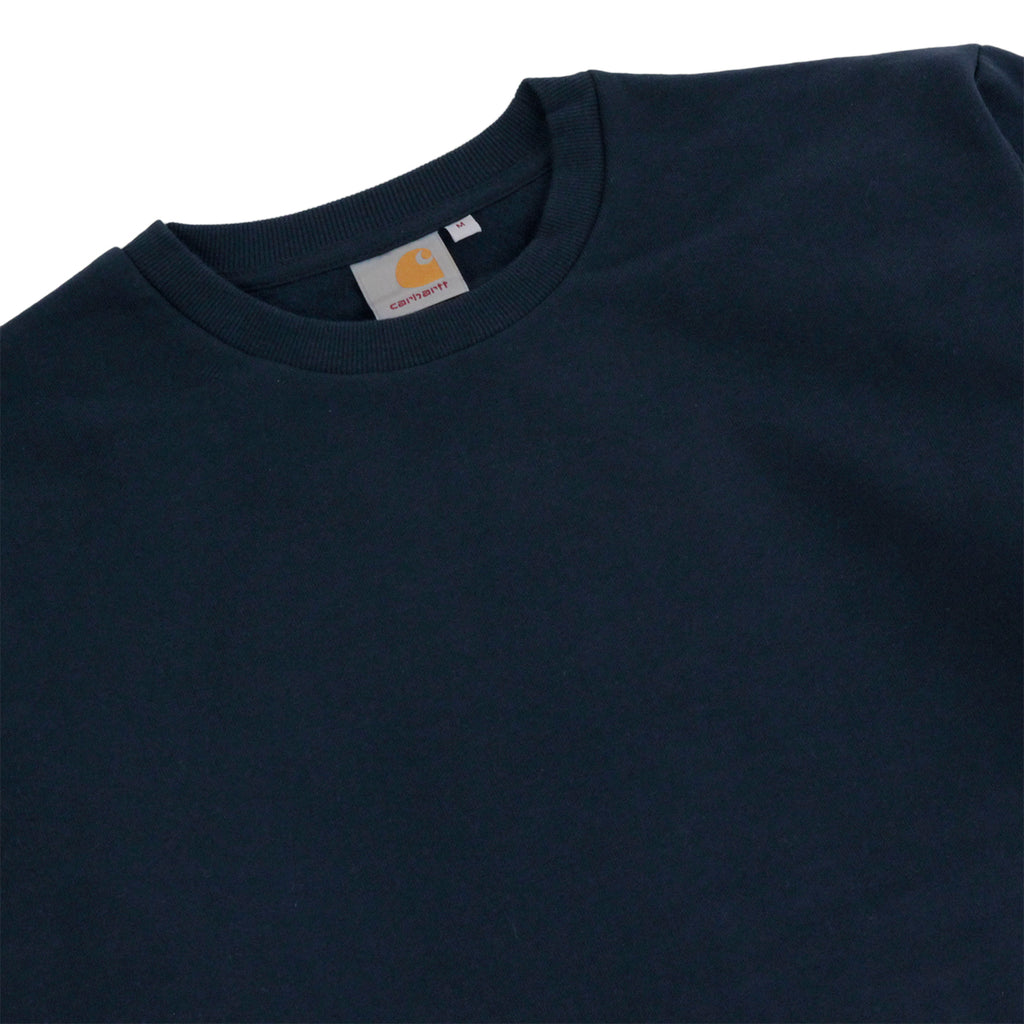 Carhartt State Flag Sweatshirt in Navy / Navy - Detail
