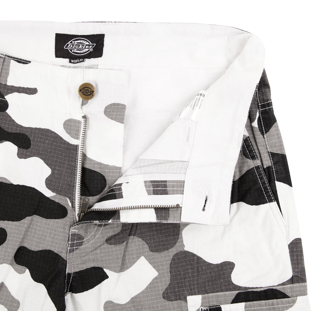 Dickies New York Pant in White Camo - Unzipped
