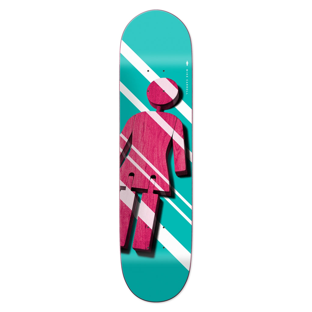 Girl Skateboards Mike Carroll Shutter OG Skateboard Deck in 8.375""