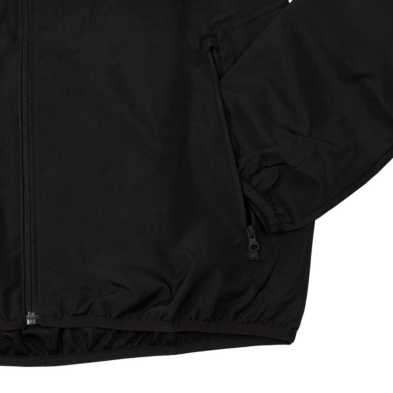 Adidas Skateboarding ADV Wind Jacket in Black/Solid Grey - Pocket Detail