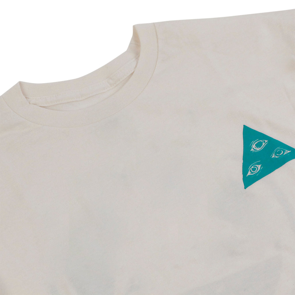Welcome Skateboards Talisman T Shirt in Natural - Detail