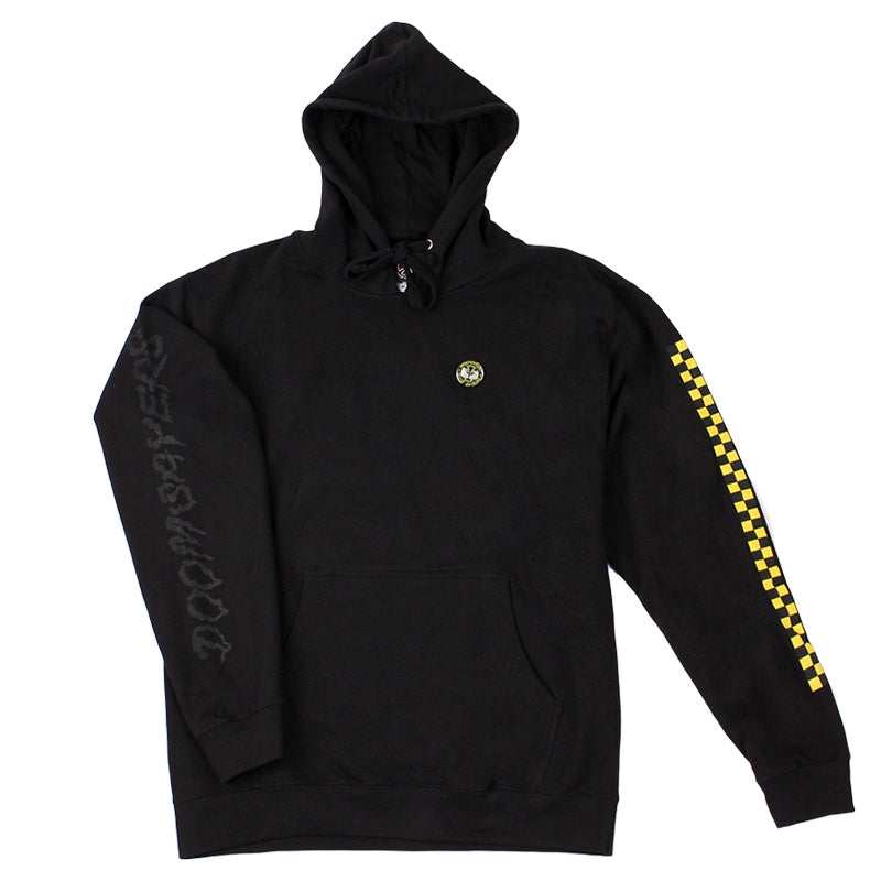 INDEPENDENT TRUCKS X DOOM SAYERS HOODIE BLACK SLEEVE