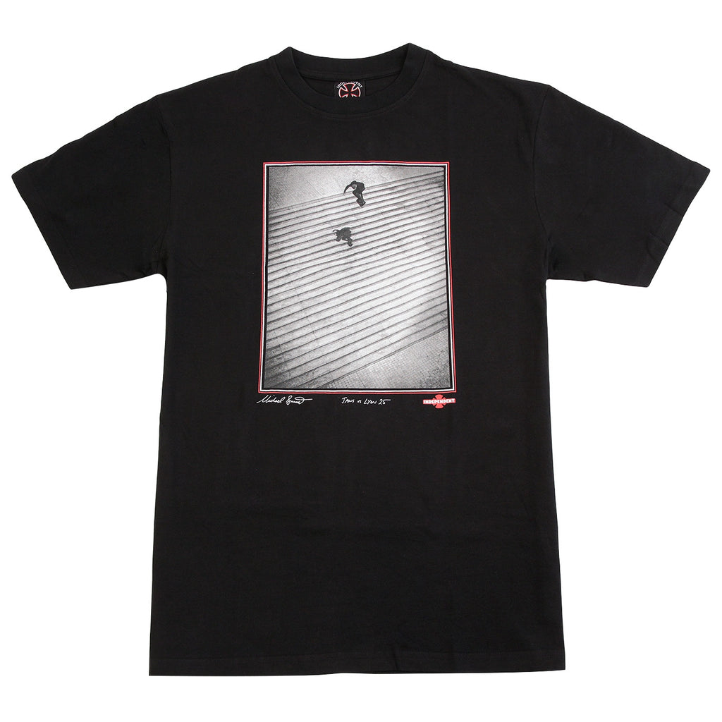 Independent Trucks Burnett / Jaws T Shirt in Black