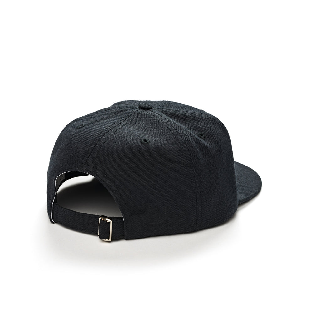 Polar Skate Co Canvas Cap in Black - Back