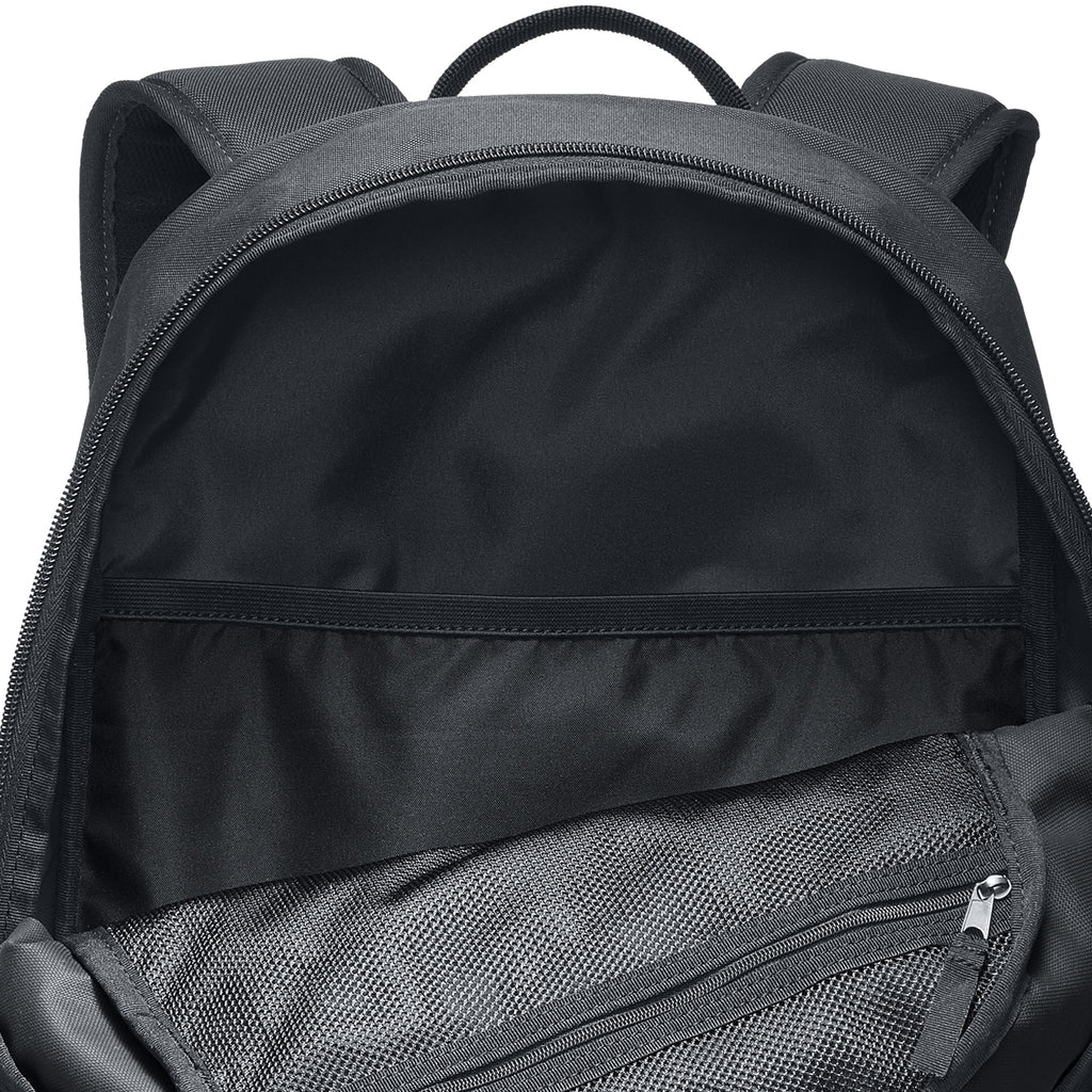 Nike SB Courthouse Backpack in Black / Black / White - Open
