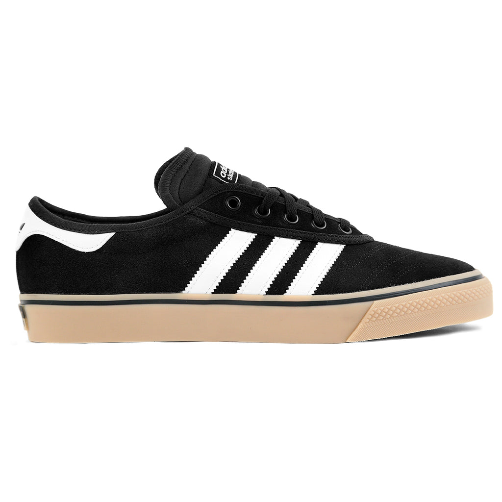 Adidas Skateboarding Adi Ease Premiere Shoes in Core Black / FTW White / Gum