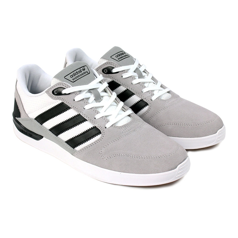 Adidas Skateboarding ZX Vulc Shoes in FTW White/Core Black/Grey - Pair