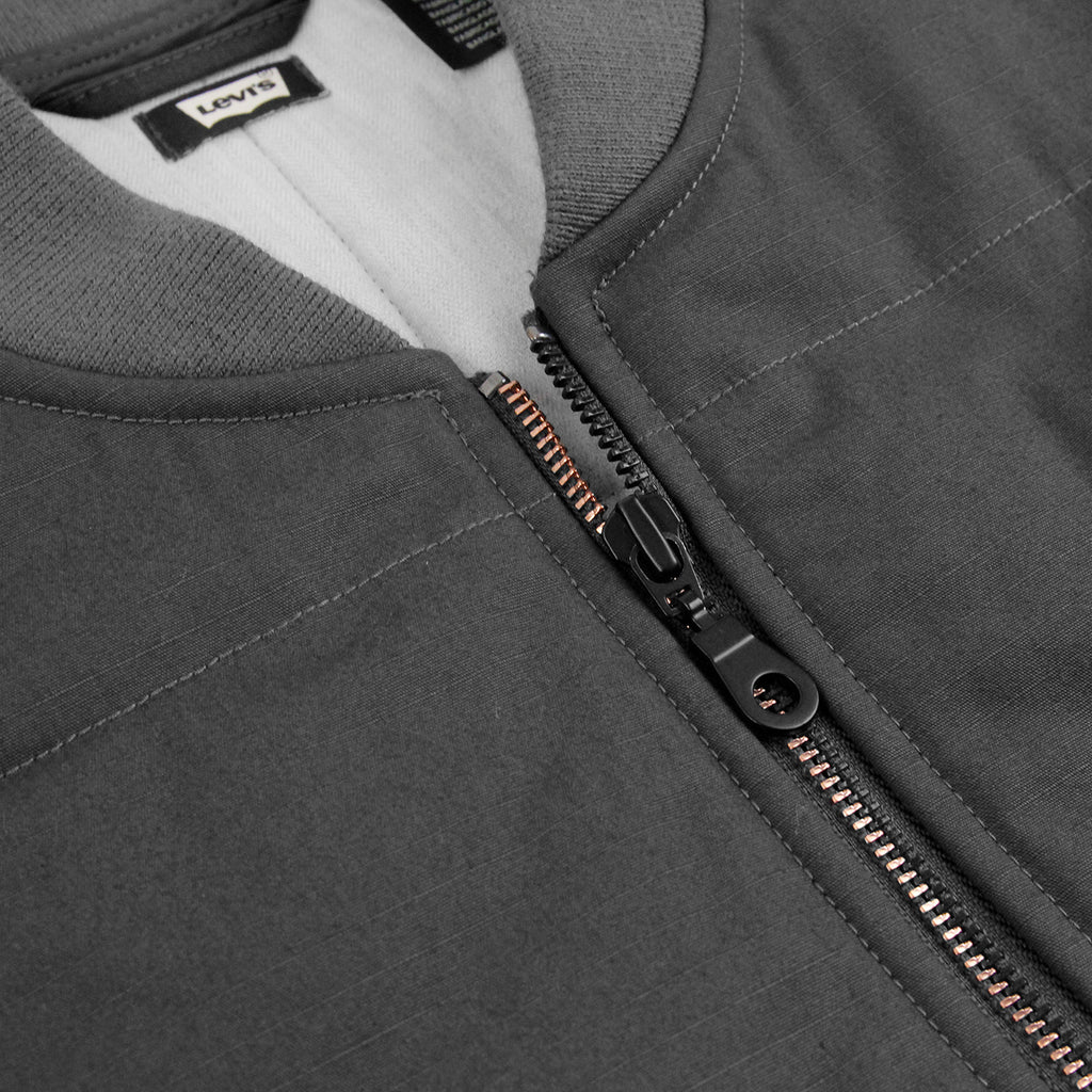 Levis Skateboarding Wharf Jacket in Graphite - Zipper