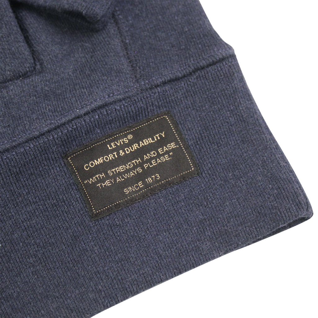 Levi's Skateboarding Collection Hoodie in Dark Navy - Label