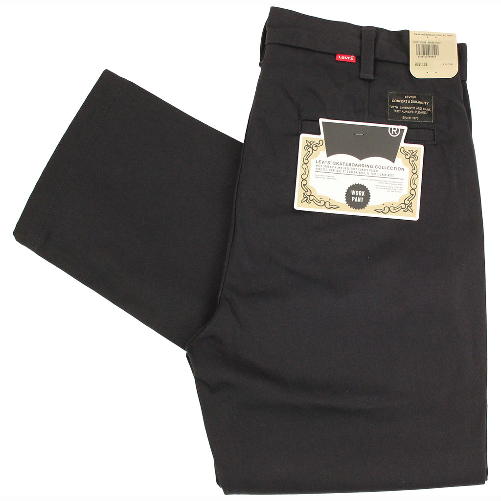 Levis Skateboarding Work Pant in Black