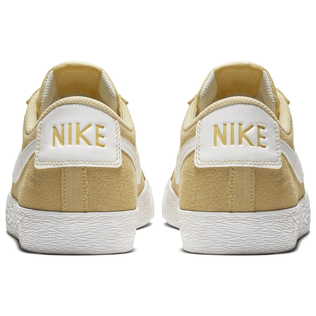 Nike SB Zoom Blazer Low Shoes in Lemon Wash / Summit White - Back