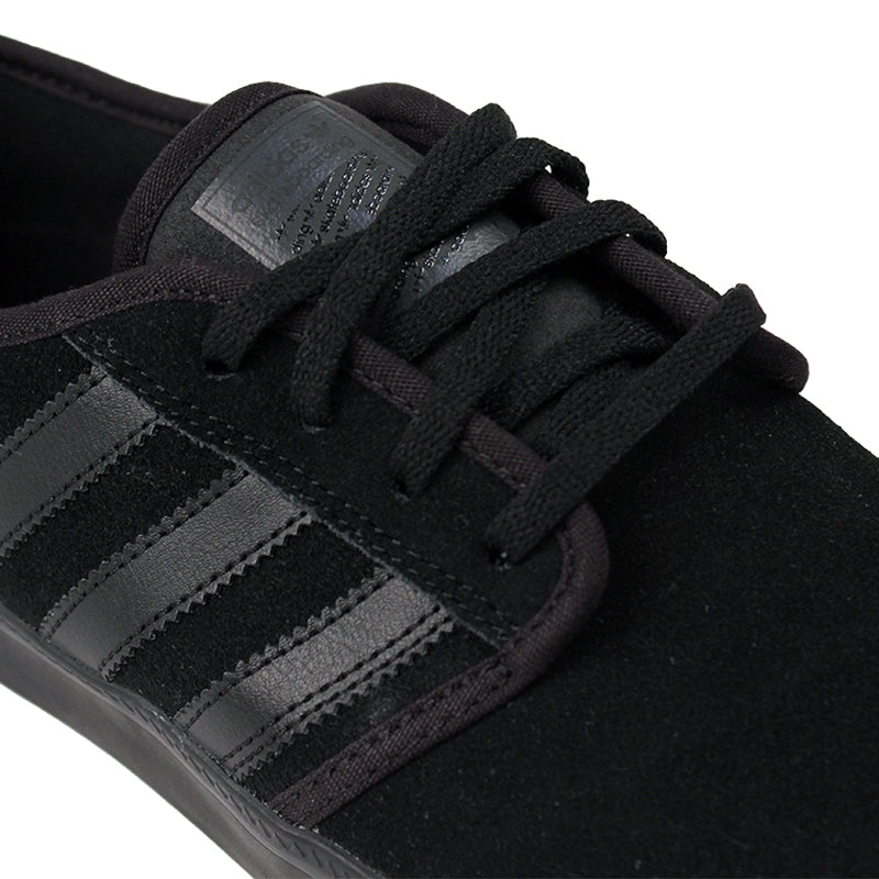 Adidas Skateboarding Seeley ADV Shoes in Core Black - Detail
