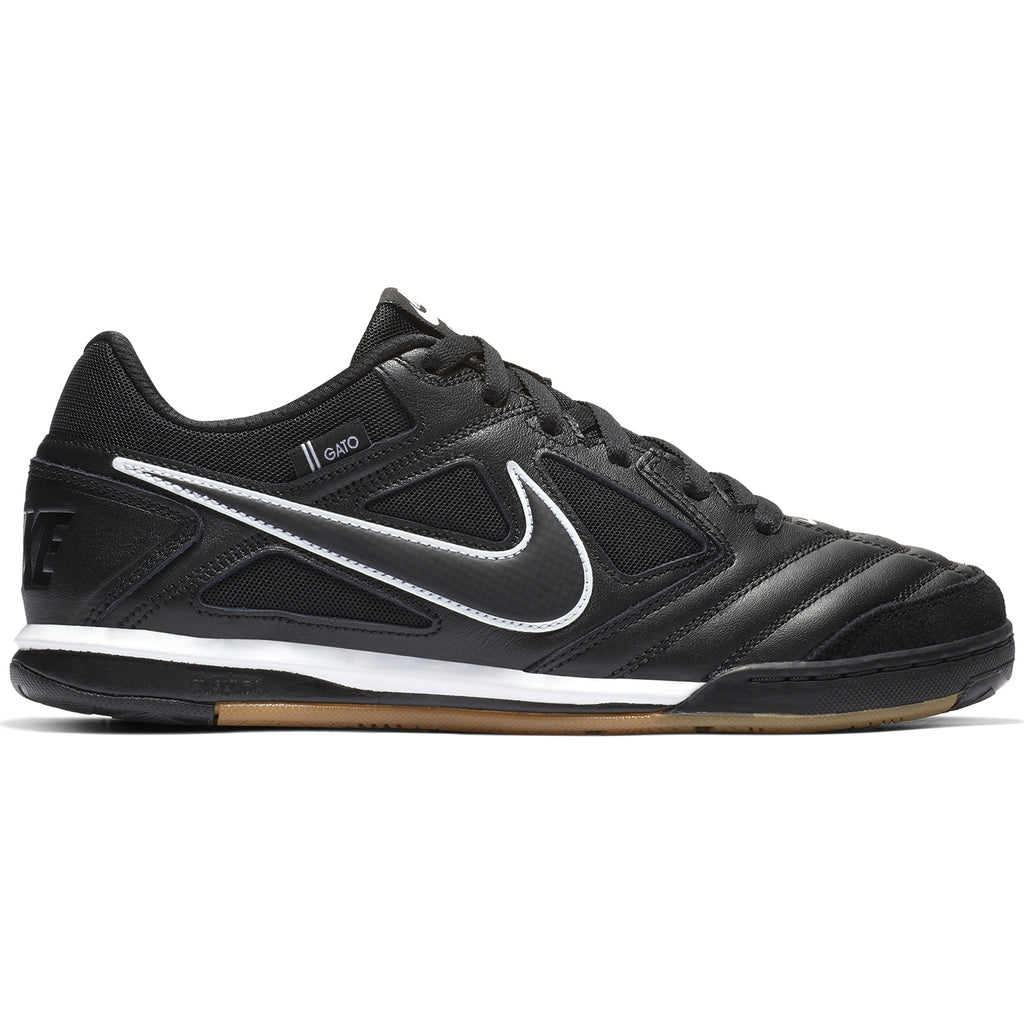 Nike SB Gato Shoes in Black / Black - White - Gum Light Brown