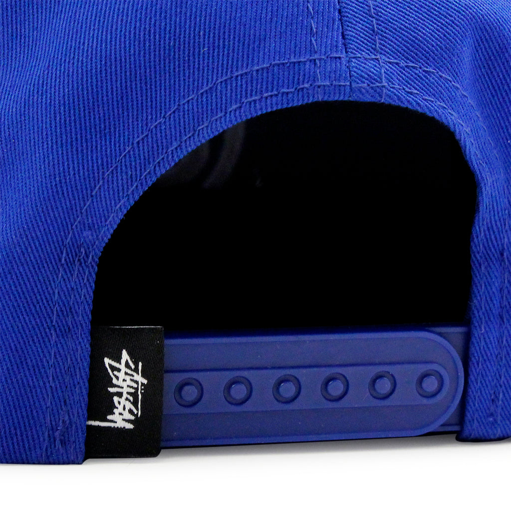Stussy SS Link Snapback in Royal Blue - Snapback