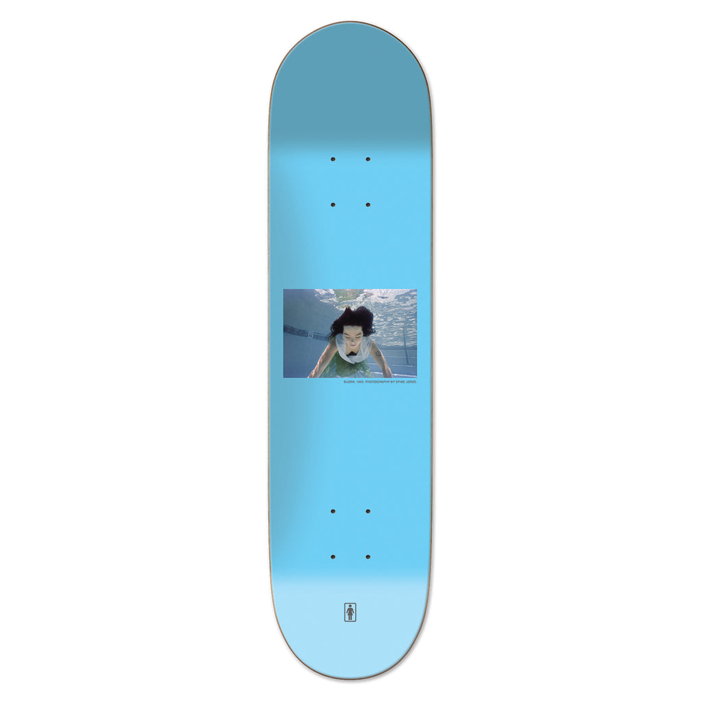 "Girl Skateboards Photos By Spike Bjork Deck in 8.375"" - Top"