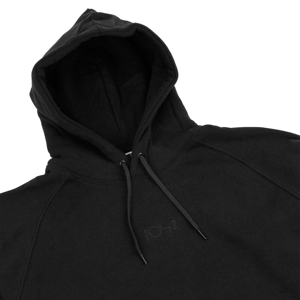 Polar Skate Co Default Hoodie in Black - Detail