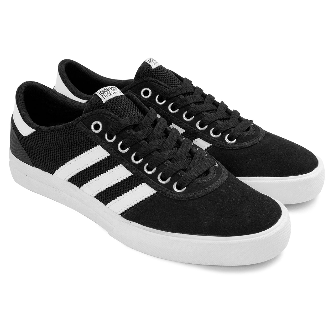 new arrival beb45 0b1dc Lucas Premiere ADV Shoes in Core Black   White   White by Adidas ...
