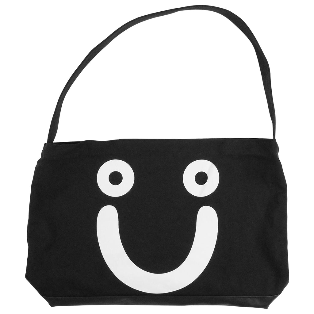 Polar Skate Co Happy Sad Tote in Black / White
