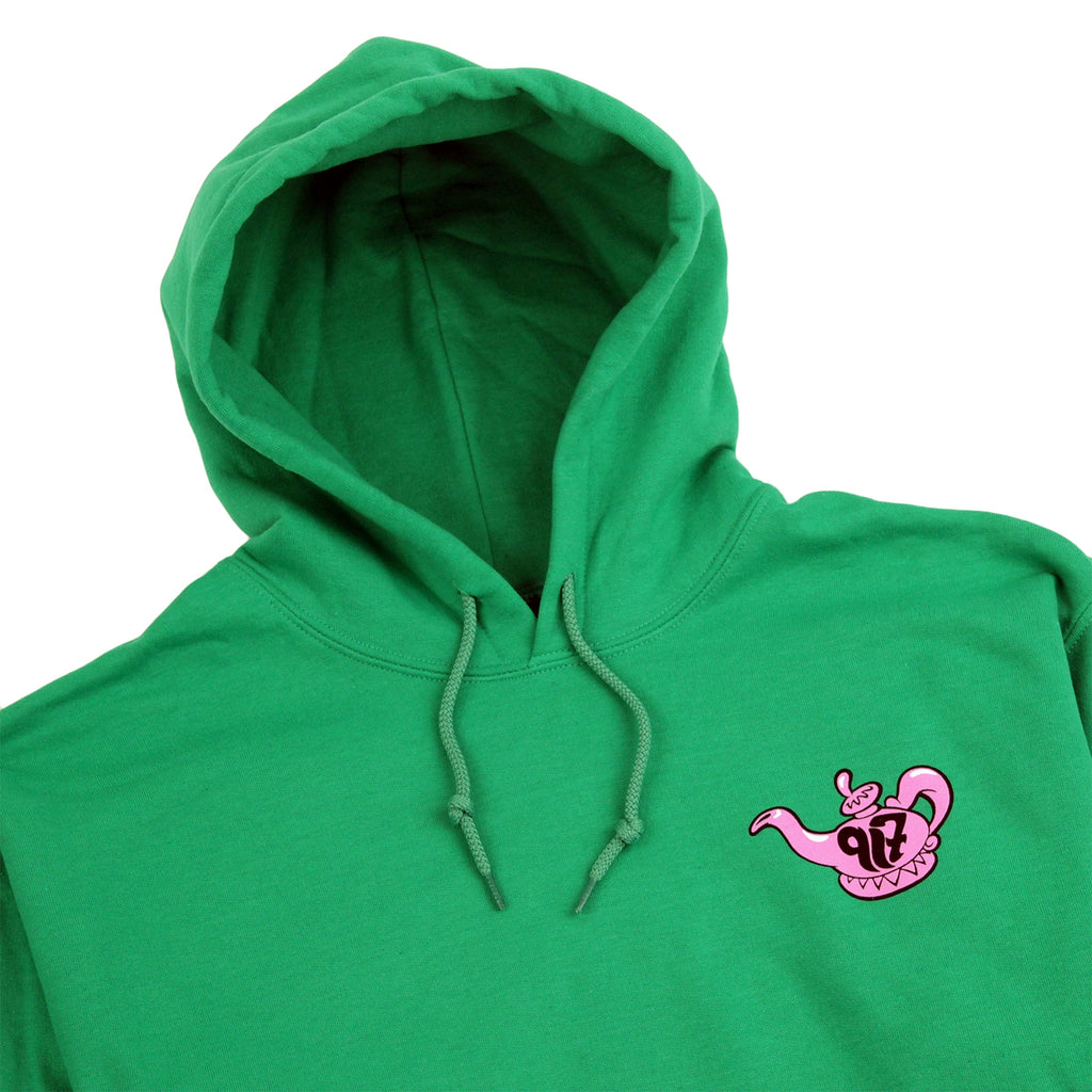 Call Me 917 Really Sorry Hoodie in Green - Detail
