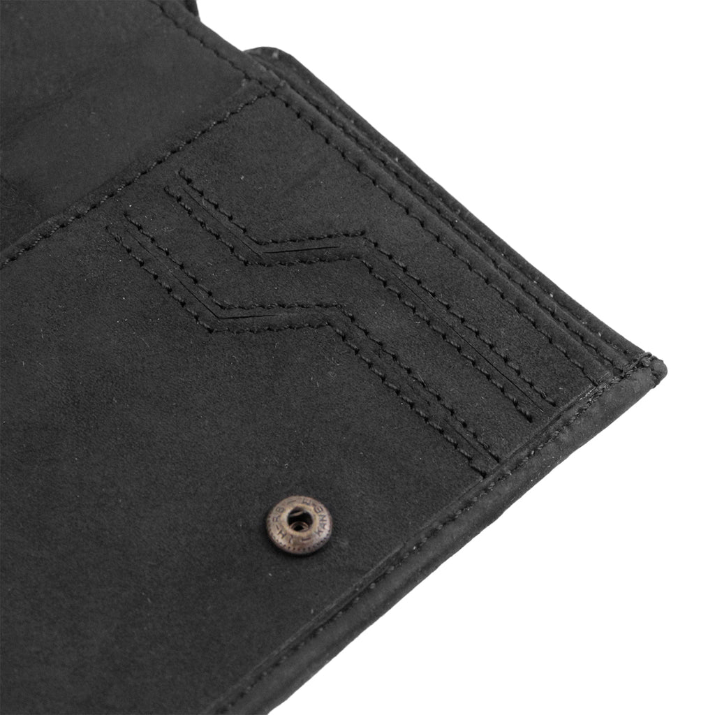 Dickies Ridgeville Wallet in Black - Open 2
