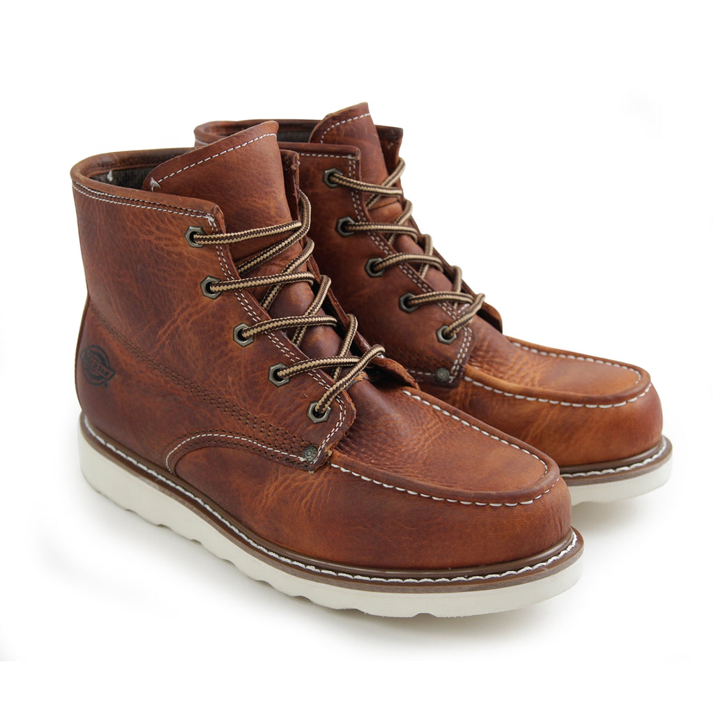 Dickies Illinois Boots in Chestnut - Pair