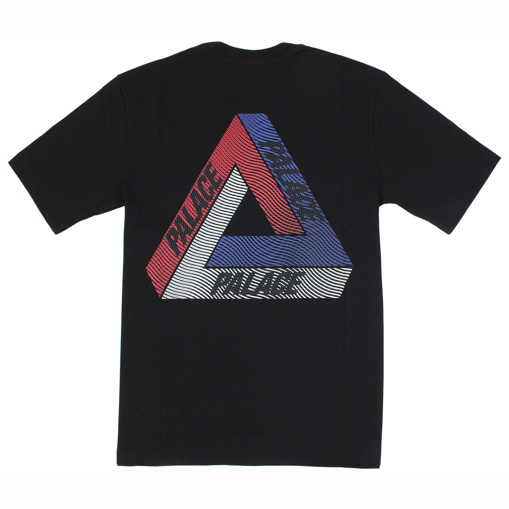 Palace Drury Brit T Shirt in Black