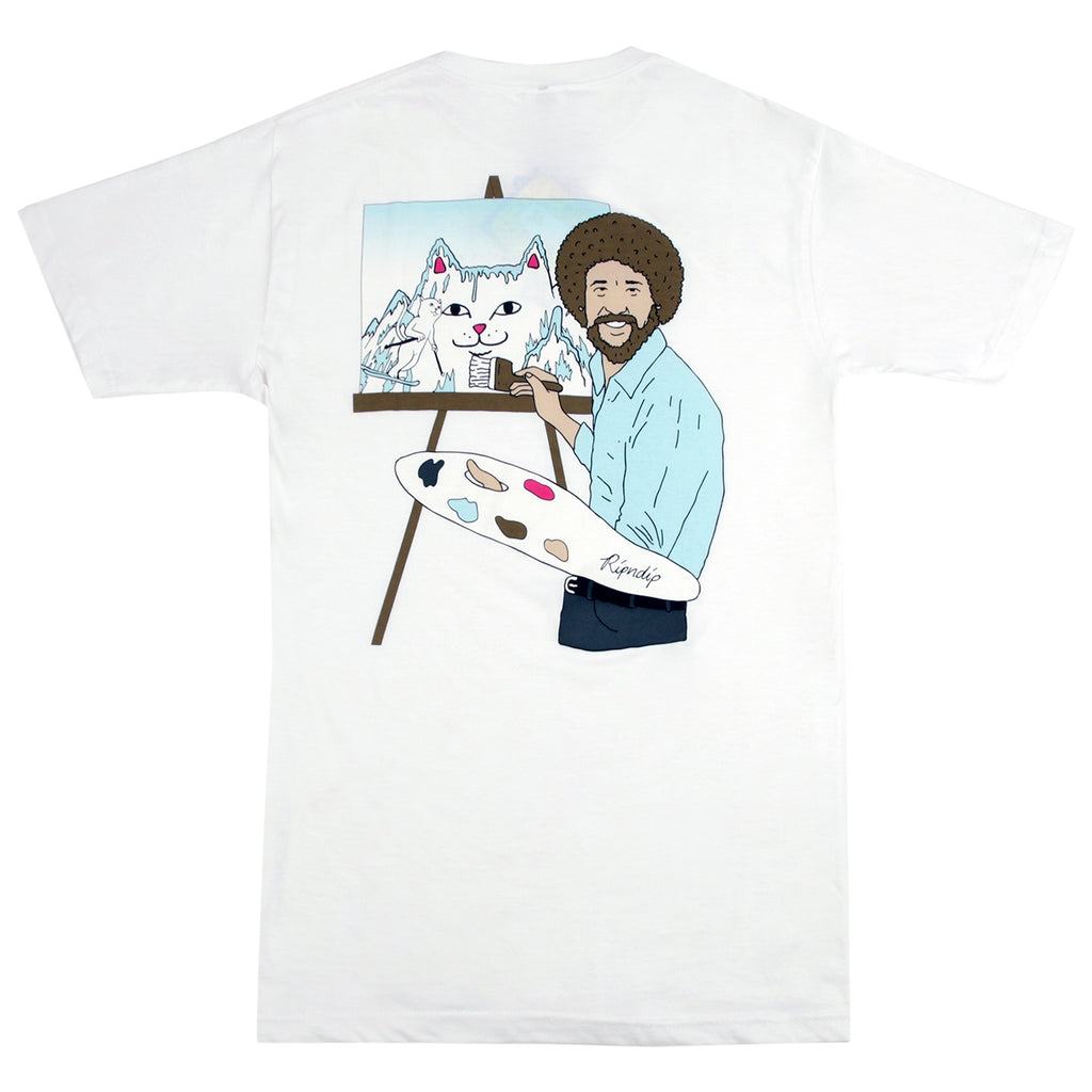RIPNDIP Ross T Shirt in White
