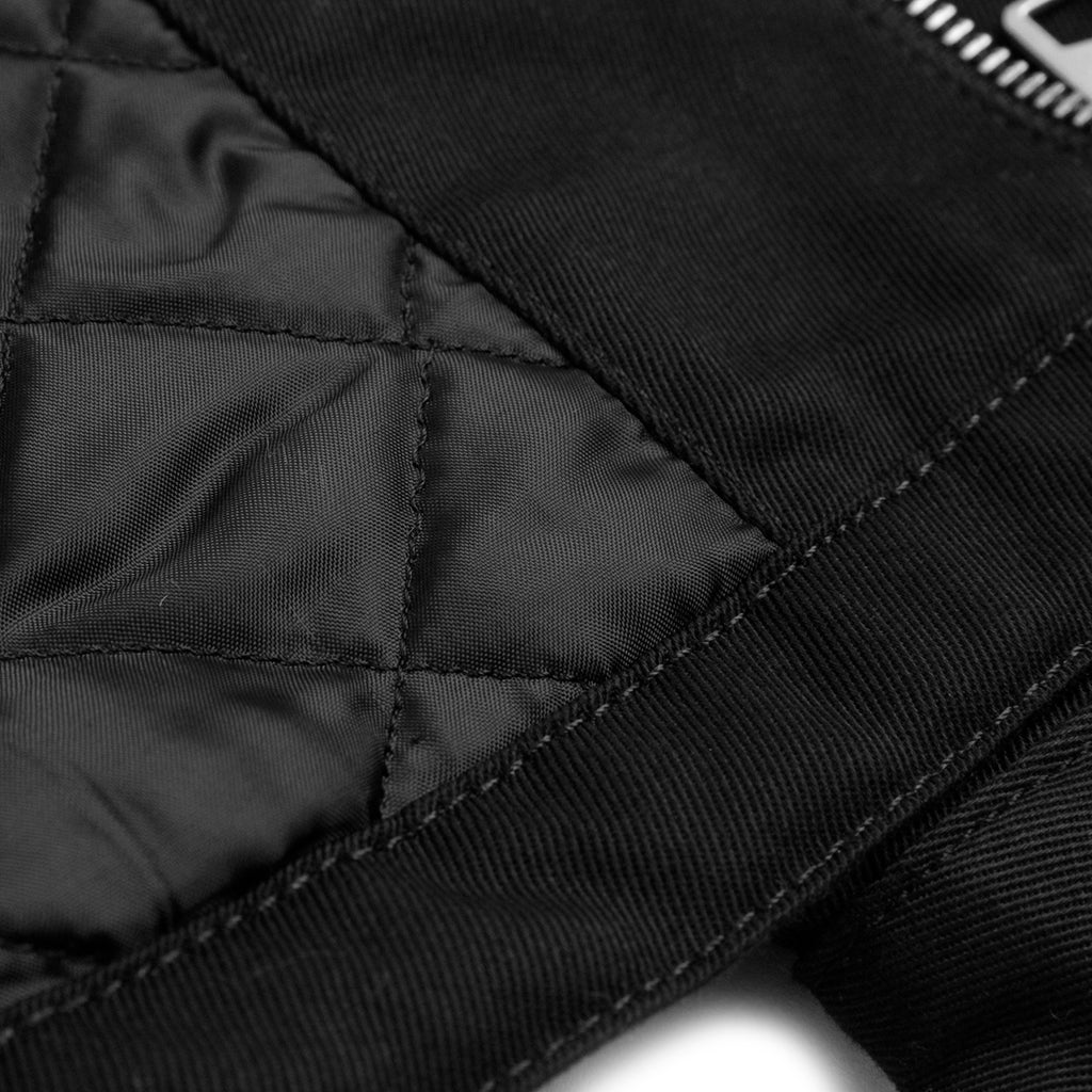 Carhartt Modular Jacket in Black Rinsed - Lining