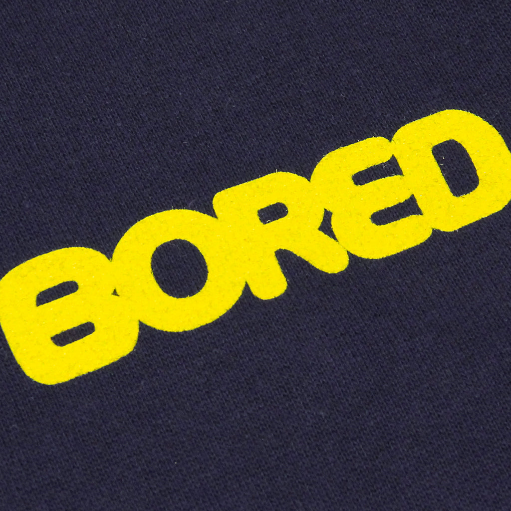Bored of Southsea Bored Brigade Sweatshirt in Navy - Print