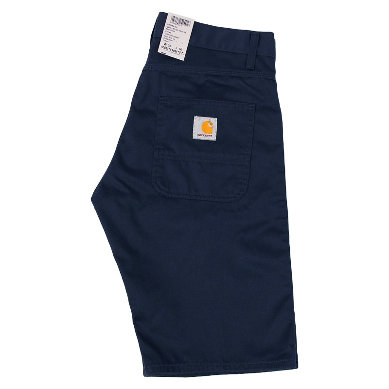 Carhartt Skill Short in Duke Blue Rinsed