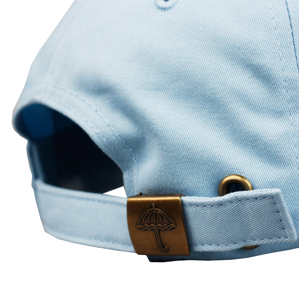 Helas H 6 Panel Cap in Pastel Blue - Back