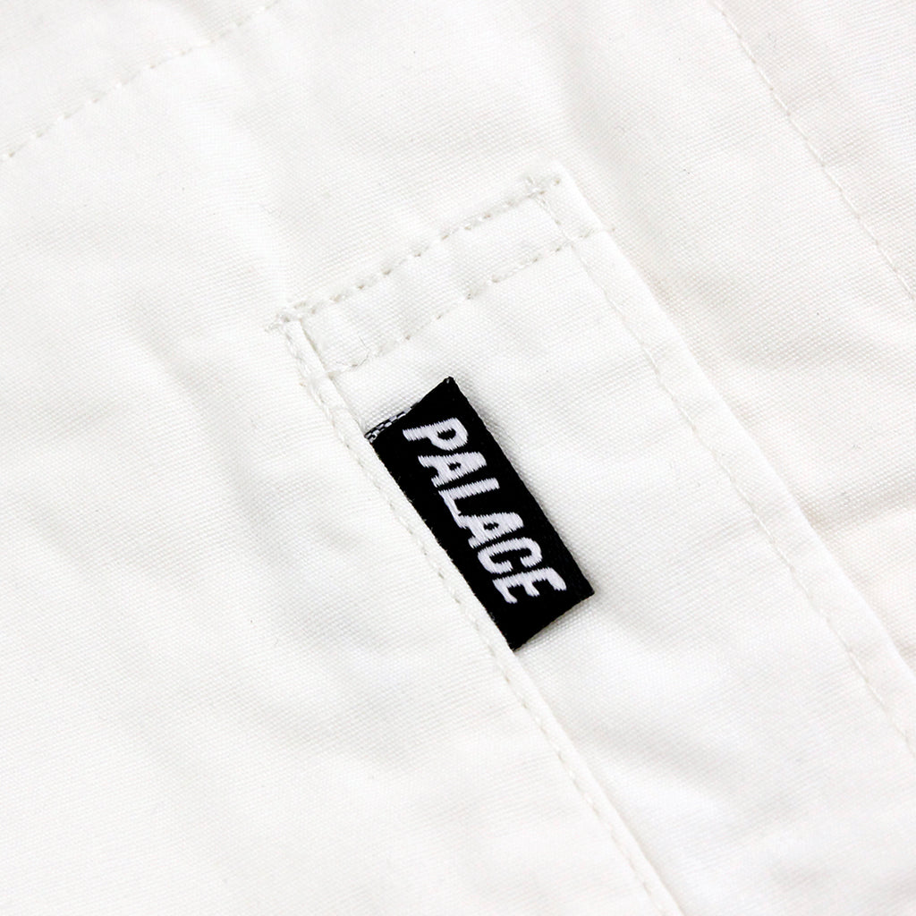 Palace Work Jacket in Whisper White - Label