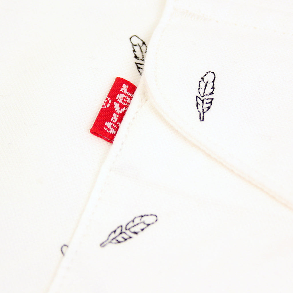 Levi's Skateboarding Collection Reform Shirt in Print White - Label