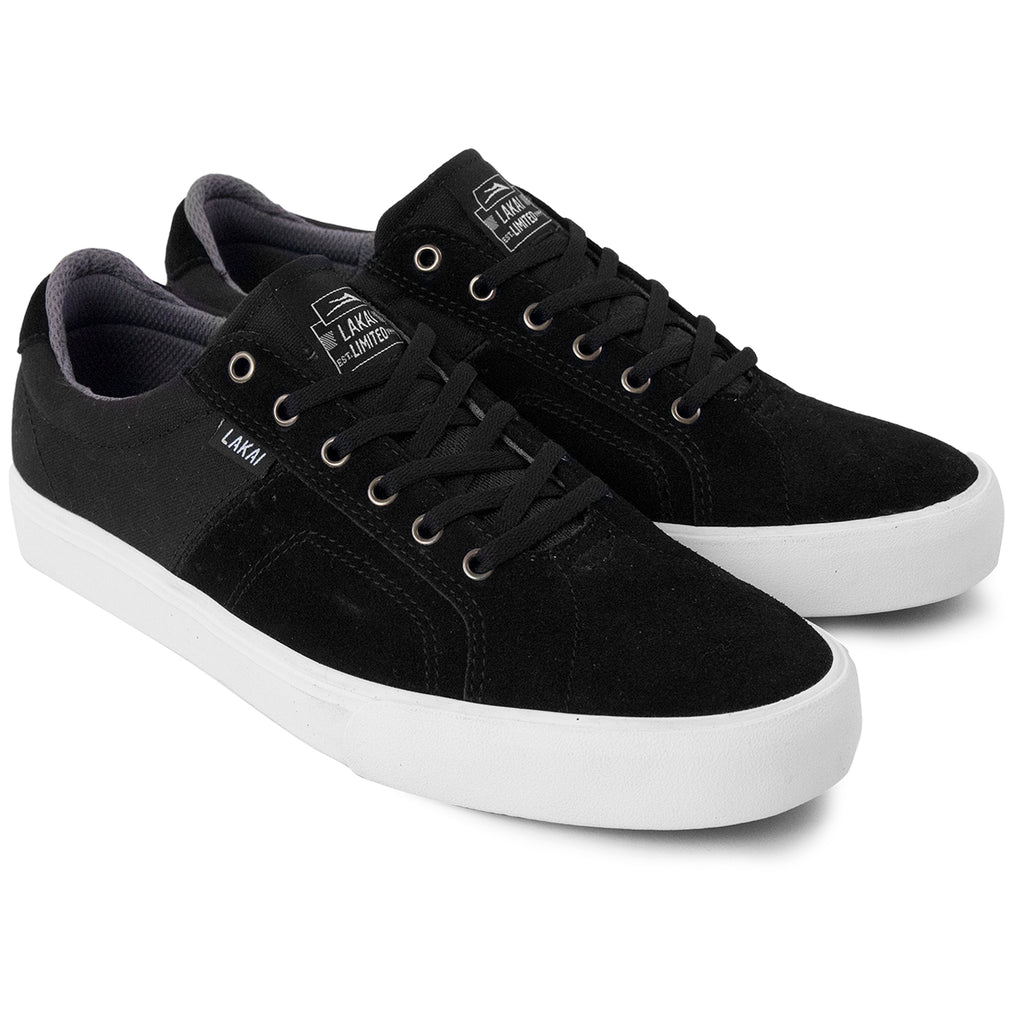 Lakai Flaco Shoes in Black / Grey - Pair