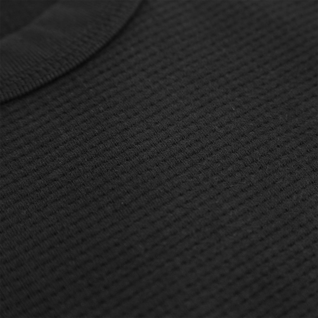 Levis Skateboarding L/S Thermal in Jet Black - Waffle