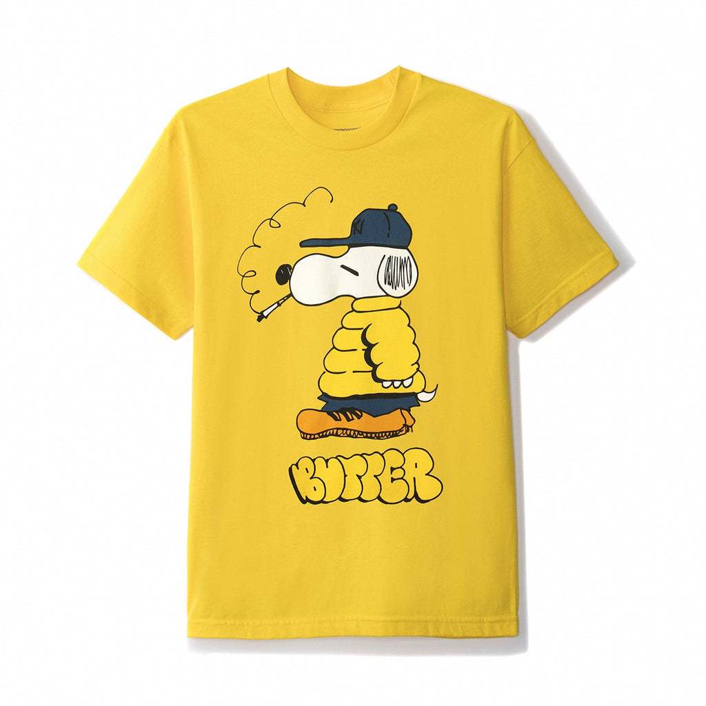 Butter Goods Lo Goose T Shirt in Yellow