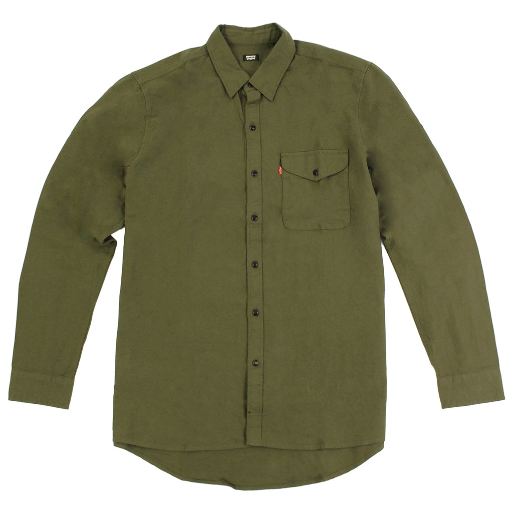 Levi's Skateboarding Collection Reform Shirt in Ivy Green